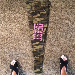 "Pants - Camo ""Beast"" leggings"